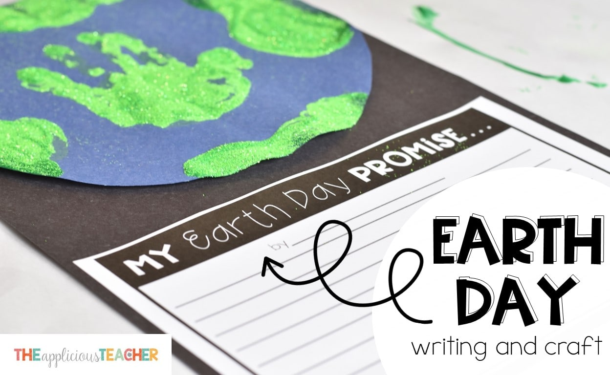 Earth Day Writing Craft Activity Free Printable Update