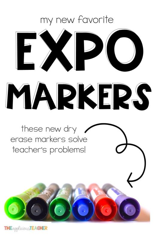 Expo Ink Indicator markers are solving one of the biggest problems and teachers everywhere are thanking them!