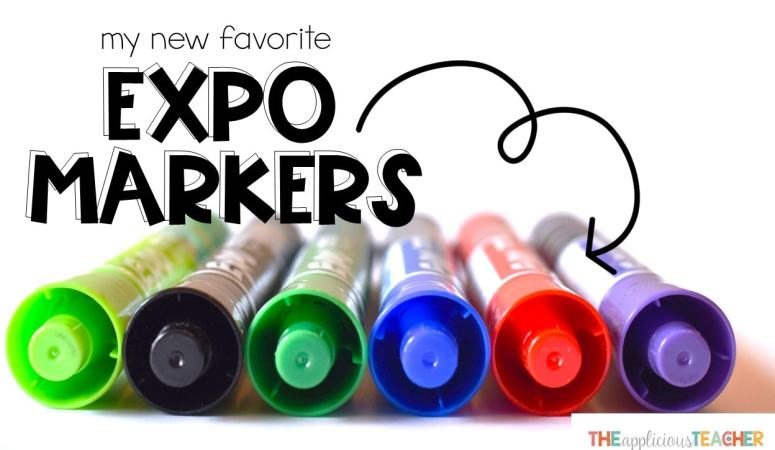 Expo Dry Erase Markers with Ink Indicator: My New Favorite Marker