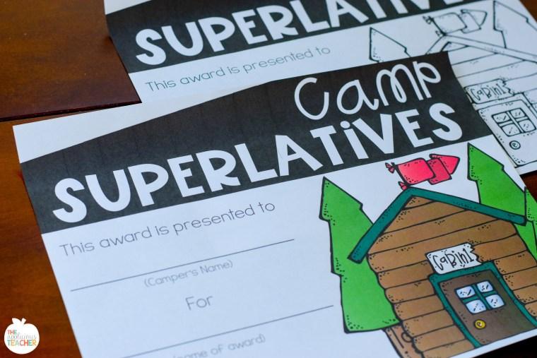 camp superlative awards