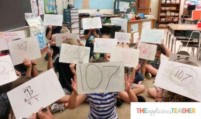 Save the paper! Using dry erase markers in place of paper and pencil