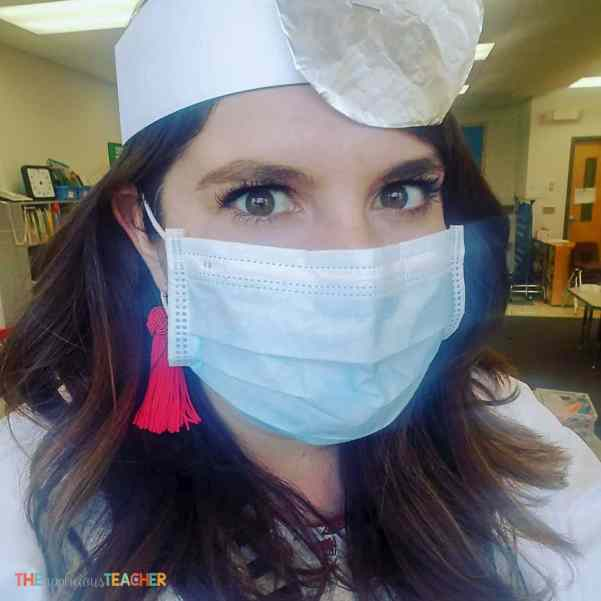 Dentist outfit for classroom Dental School in Kindergarten