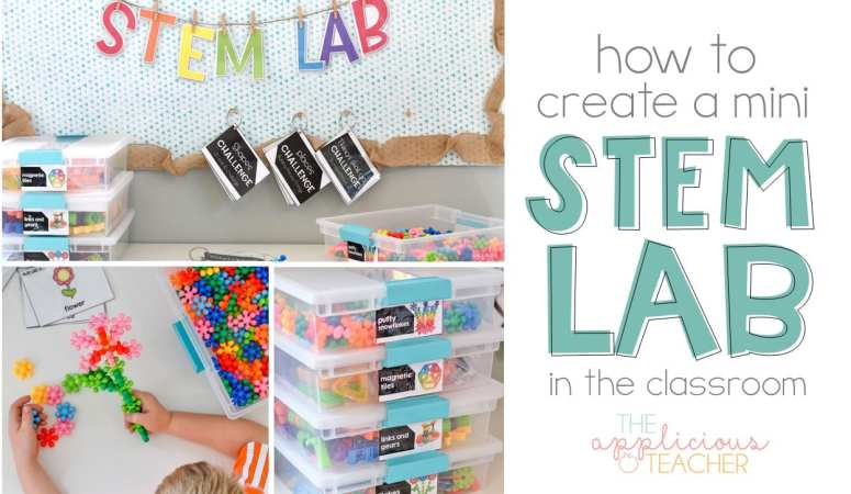 Creating a mini STEM Lab in your classroom