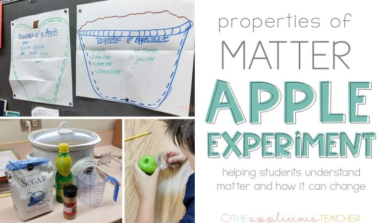 Properties of Matter Apple Experiment