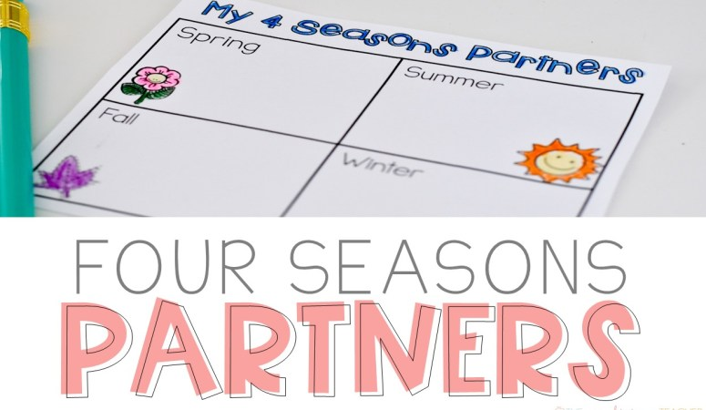Four Seasons Partners: An Easy Buddy System for the Classroom