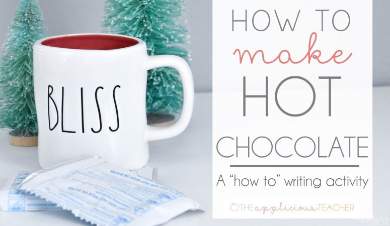 How to Writing: How to Make Hot Chocolate Writing Activity and Craft