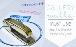 Gallery Walks: Use this easy teaching strategy to build your students vocabulary and math skills! Theappliciousteacher.com
