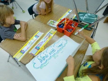 Phonics exemplar posters- great idea for gallery walks! TheAppliciousTeacher.com