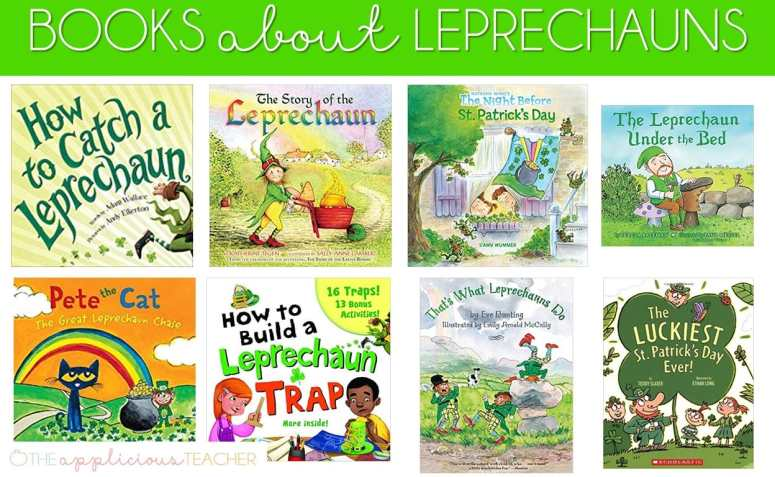 St. Patrick's Day books about Leprechauns