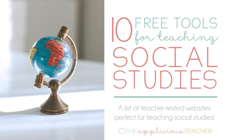 10 Free tools for Teaching Social Studies