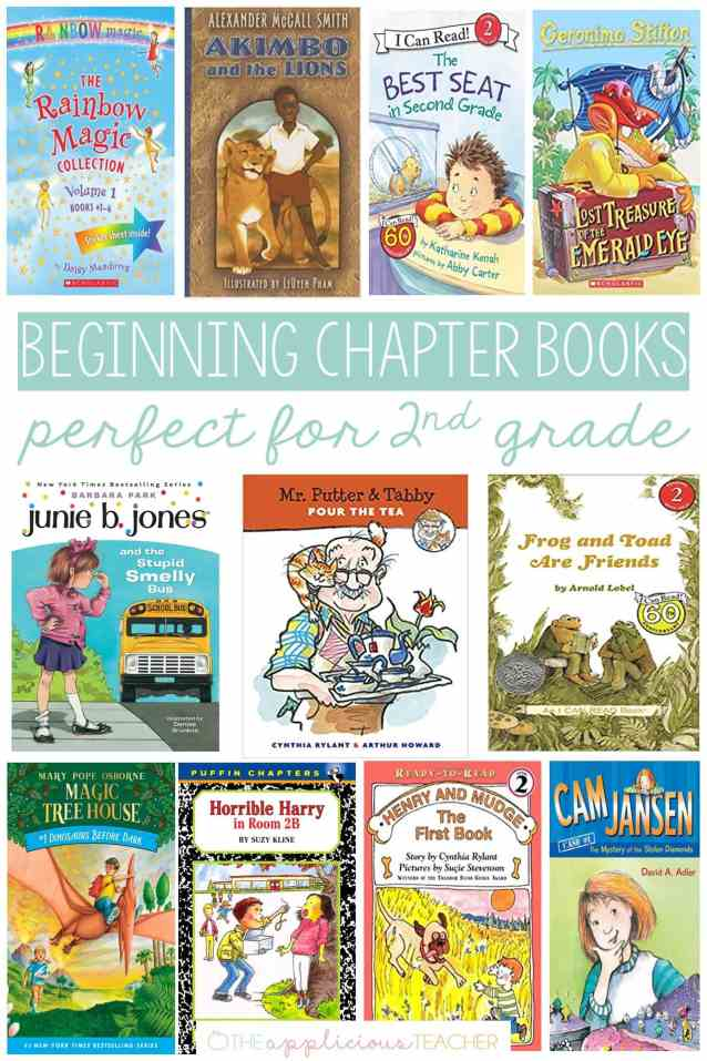 Must have beginning chapter books that are perfect for second graders TheAppliciousTeacher.com #books #2ndgrade