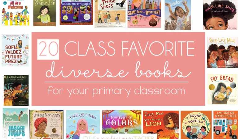 20 Diverse Books Perfect for Your 1st through 3rd Grade Library!