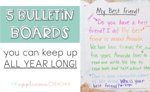 bulletin boards keep up all year