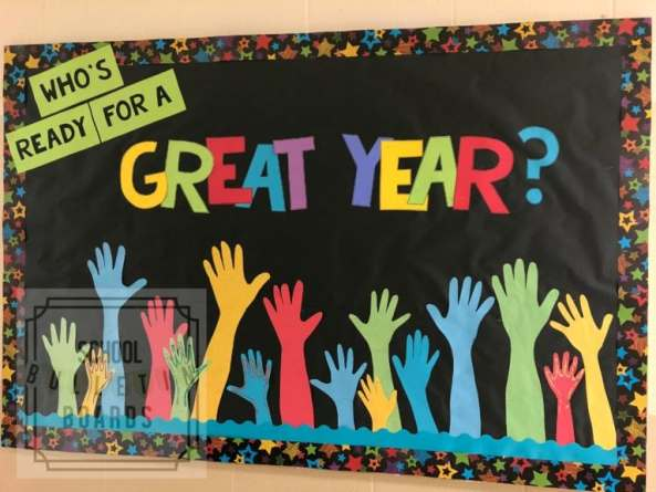 Time for a Great Year Bulletin Board