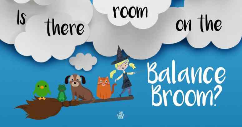 room on the broom STEAM activity