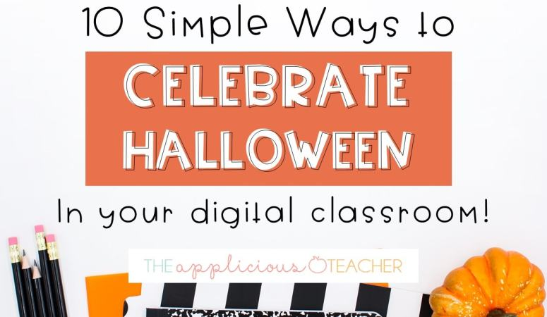 10 Simple Ways to Celebrate Halloween in Your Virtual Classroom