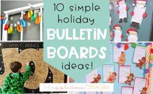 holiday bulletin boards