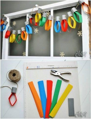 Christmas Light Bulbs String