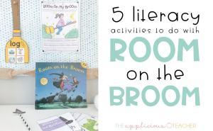 room on the broom literacy activities