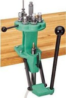 This Redding turret press allows you to have as many as seven dies installed at once