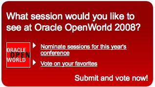 OpenWorld 2008 Ad Banner