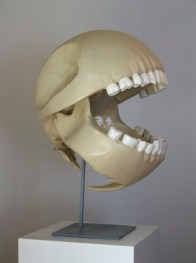Random image, Pacman's skull by Le Gentil Garcon