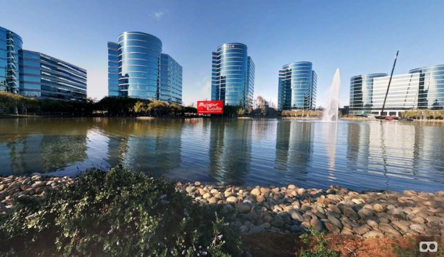 Oracle Campus and Gadget Lab in VR