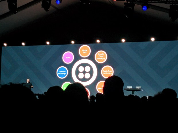 Twilio as a messaging hub