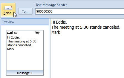 text message in outlook-2