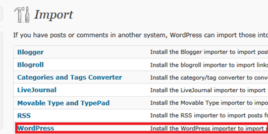 How to Move Content from One WordPress Blog to Another