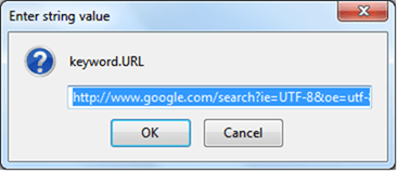 Change the Default Search Engine in Firefox