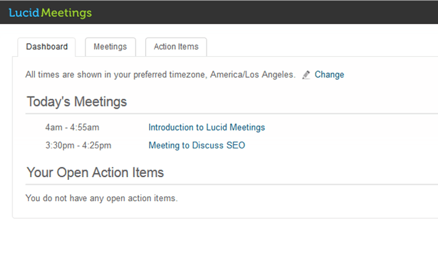 lucid meetings dashboard