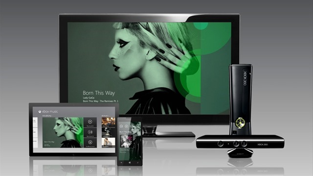 Xbox Music App for windows 8