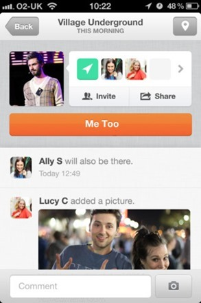 social networking app for iphone