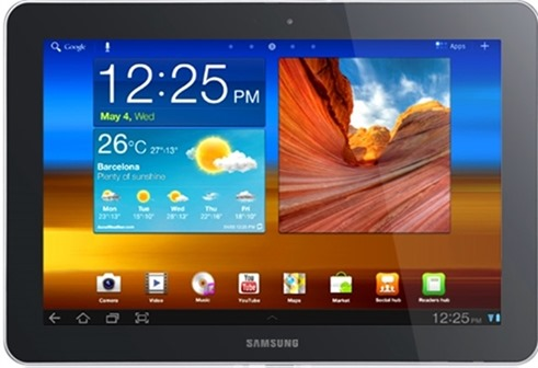 GALAXY Tab 10.1 - Best Android Tablets for 2012