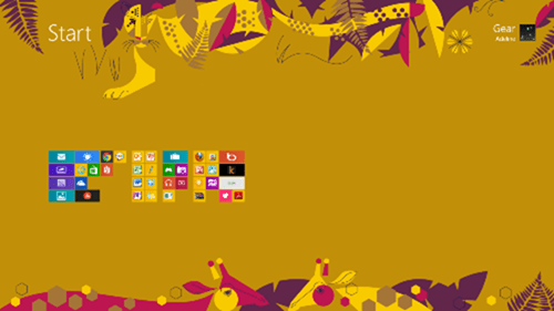 semantic view - How to Create Groups on Windows 8 Start Screen