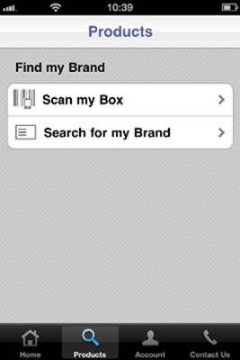 1-800 Contacts -Product Search
