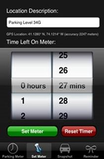 parking meter - Automotive Apps for iPhone