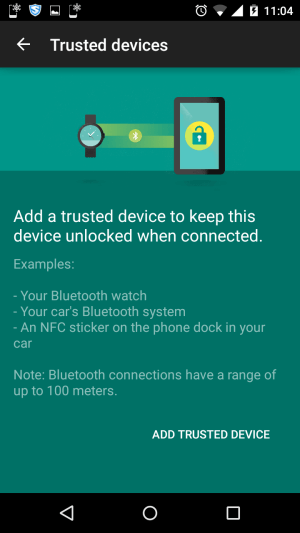 Get More Done with Android - trusted devices
