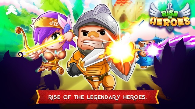 Rise of Heroes -  iOS Games to Play in November 2015