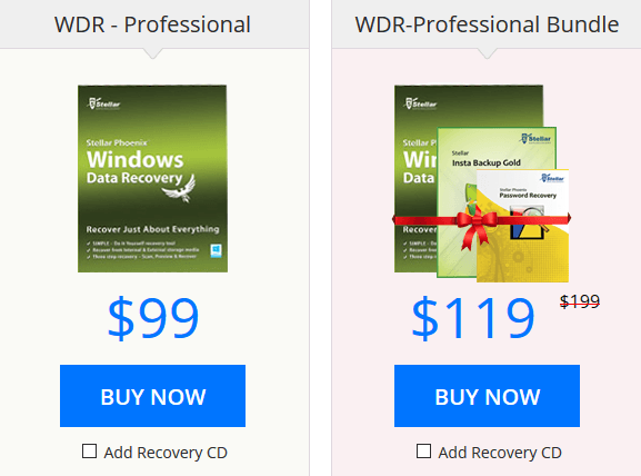 Windows Data Recovery Pro