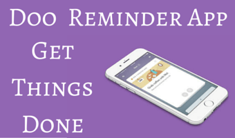 Complete Your Reminders in Style with Doo Reminder App for iOS
