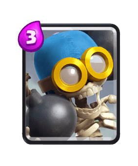 Clash Royale Troop Cards - bomber