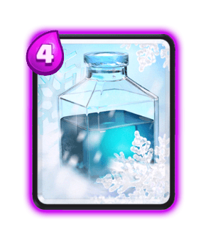 Clash Royale Cards in Arenas - Freeze