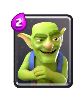 Clash Royale Troop Cards - goblins