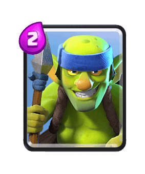 Clash Royale Troop Cards - spear goblins