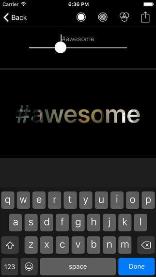 seethru - awesome text videos - New iPhone Apps for the Week May 15th
