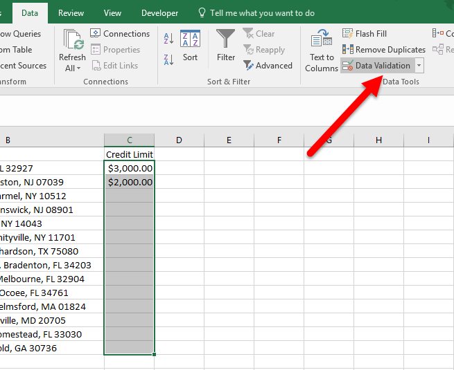 data-validation-command-in-excel