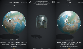 Explore Historical Artefacts in UK Museums Virtually with Civilisations AR