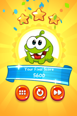 Cut the Rope 2_3 stars